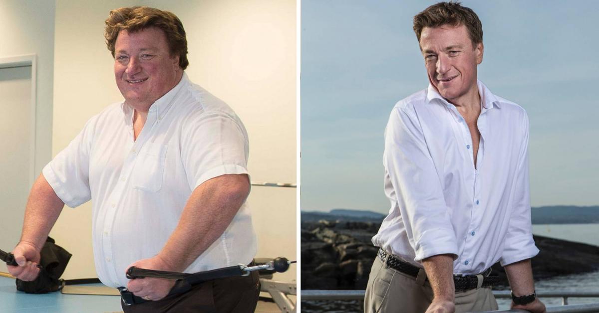 Espen Tyrihjell - en av årets foredragholdere - har gått ned 83 kg på ett år!