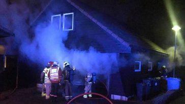 Brann i garasje