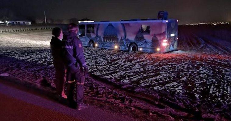 russebuss på jorde