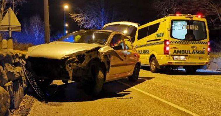 Trafikkulykke i Sandnes